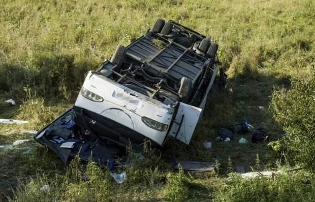 Угорщина ДТП автобус українці