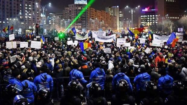 Румунія Протести Корупція