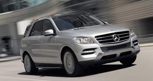 Автомобіль Mercedes-Benz ML 250 Ніни Романенко