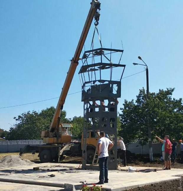 Одещина Донецький аеропорт пам'ятник