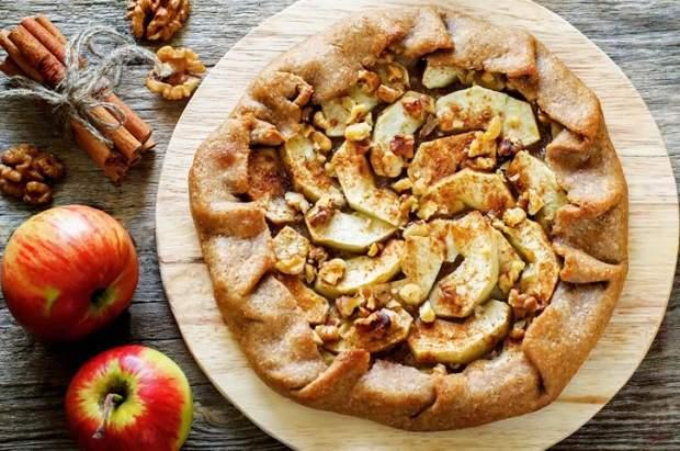 Рецепт приготування пирога з яблуками