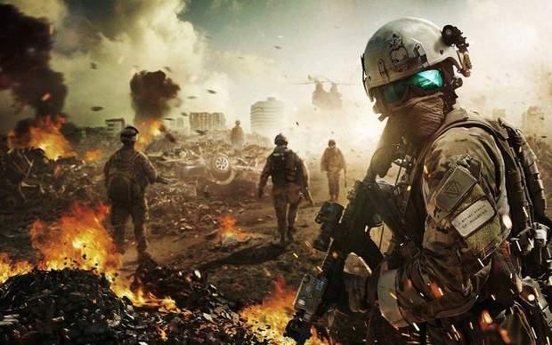 Скріншот з гри Battlefield V