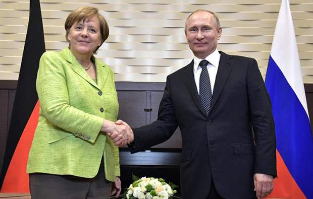 Меркель Путін зустріч