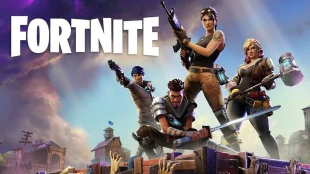Постер гри Fortnite