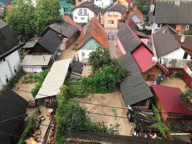 Негода Україна злива Закарпаття Рахів