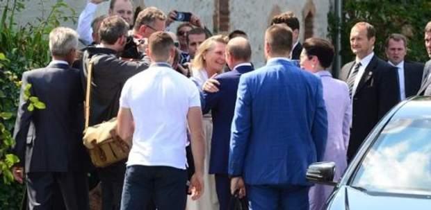 Путін на весіллі глави МЗС Австрії