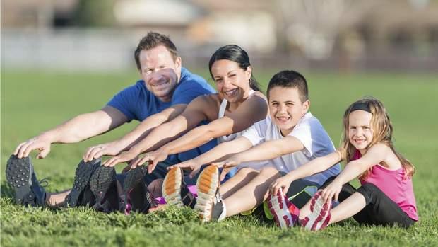Активні діти та підлітки мають менше проблем зі здоров'ям