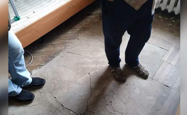 Підлога в кімнаті