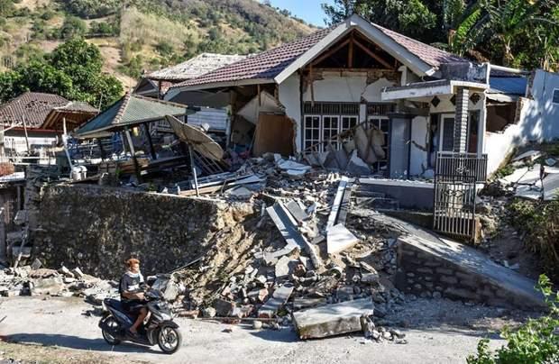 Індонезія Ломбок Землетрус