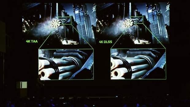 Технологія NVIDIA RTX у порівнянні з 4К ТАА