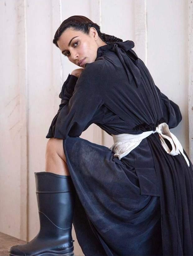 Кім Кардашян у фотосесії для  CR Fashion Book
