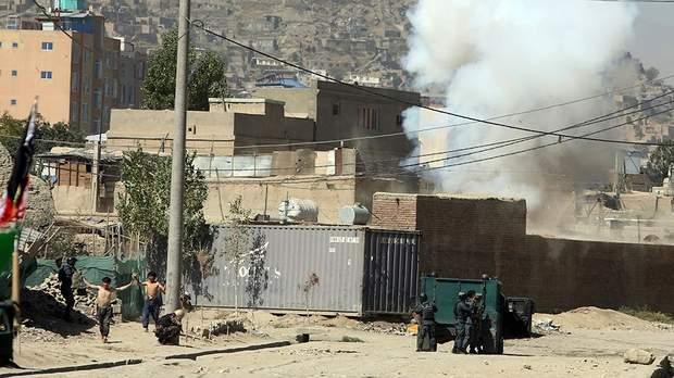 афганістан, ракетний обстріл, Ісламська Держава