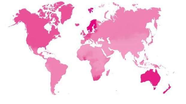 Чим яскравіший колір, тим краще жителі країни орієнтуються в просторі