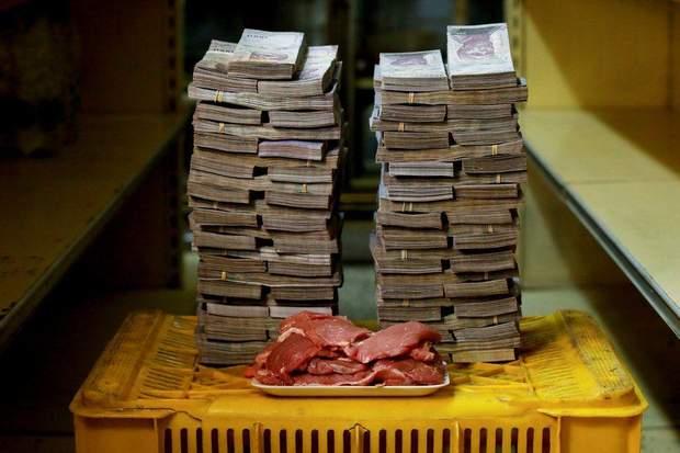 венесуела, інфляція, гроші