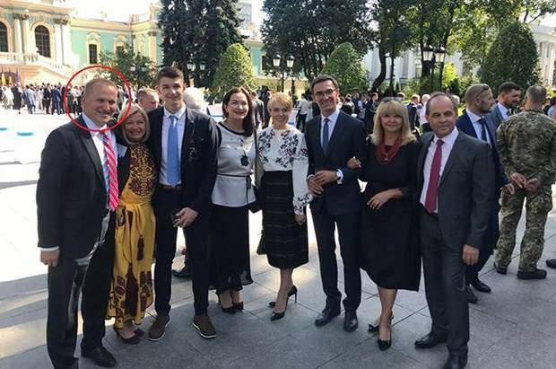 Екс-посол США в Україні на прийомц президента