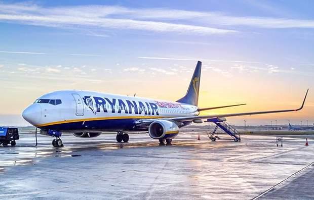Ryanair ручна поклажа