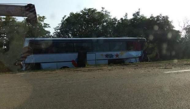 ДТП аварія автобус Молдова