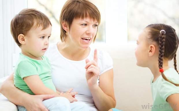 Не сваріть дитину, якщо вона не почула ваше прохання