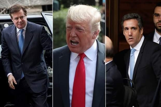 Вирок Полу Манафорту та зізнання Майкла Коена завдали серйозного політичного удару по Трампу