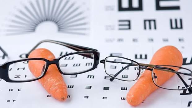Вживання моркви не допоможе при порушеннях зору
