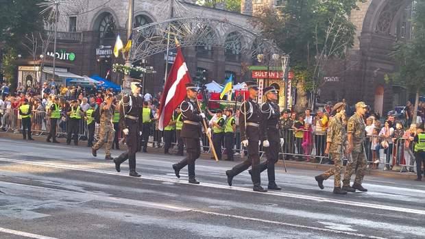 парад армія Хрещатик День Незалежності