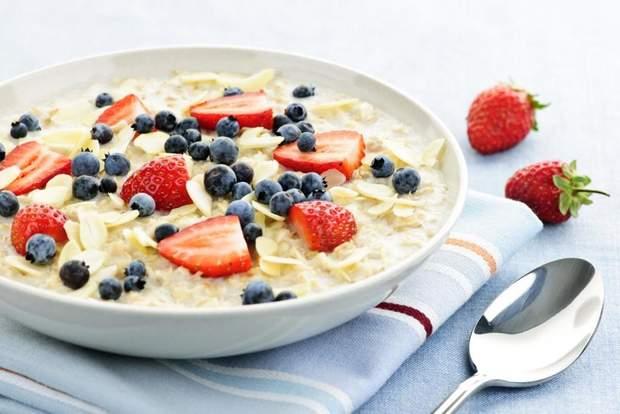 Вівсянка на сніданок для дитини