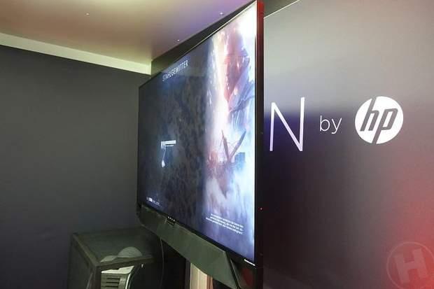 Hewlett-Packard готує великі ігрові монітори від NVIDIA