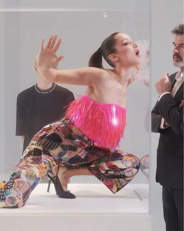 Белла Хадід для журналу Pop