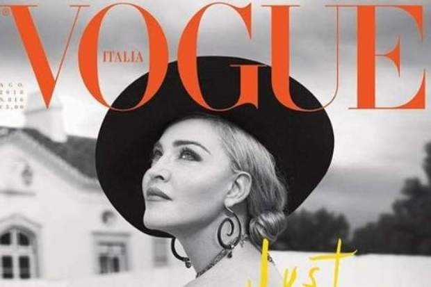 Мадонна з'явилася на обкладинці Vogue в капелюсі українського дизайнера