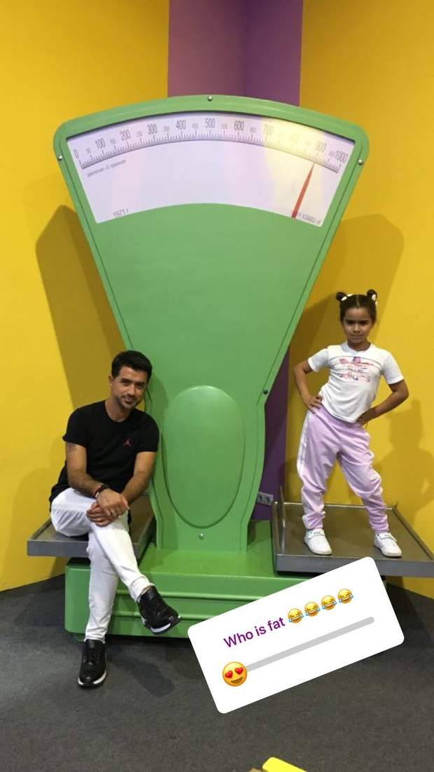 Дочка Ані Лорак та Мурата Налчаджіолу / Instagram