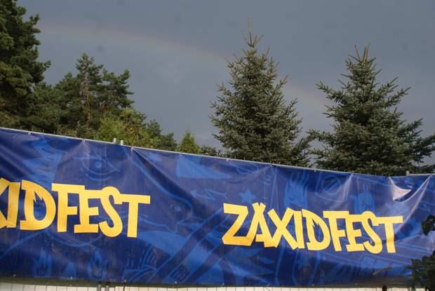 Веселка над Zaxidfest