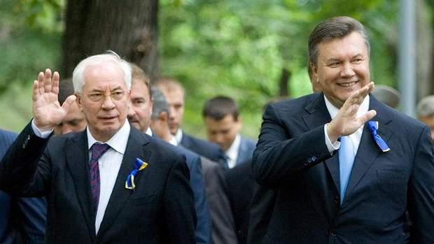Янукович Азаров Інтерпол