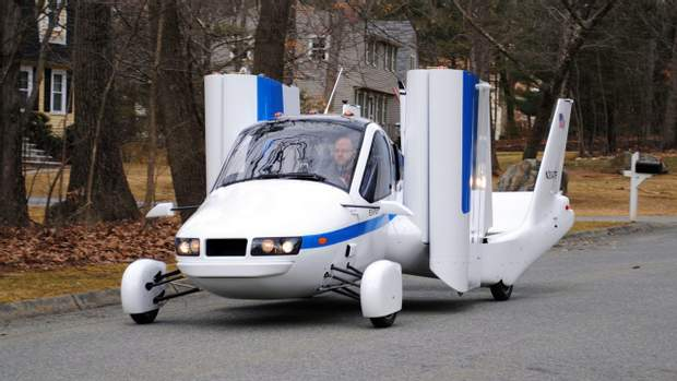 Terrafugia Transition – двомісний автомобіль, який може літати