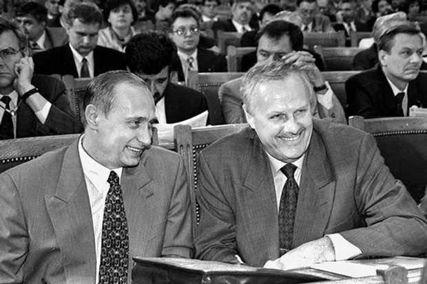 Своєю політичною кар'єрою Путін багато в чому завдячує Собчаку