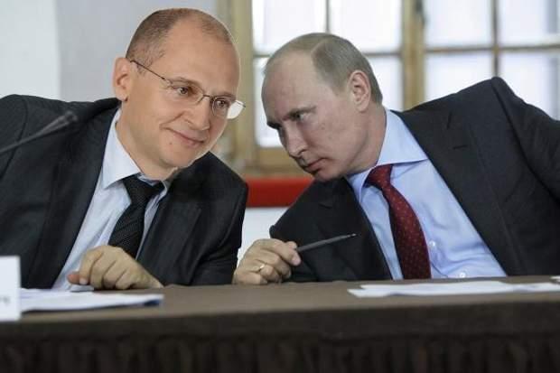 Сергій Кирієнко може стати наступником Путіна