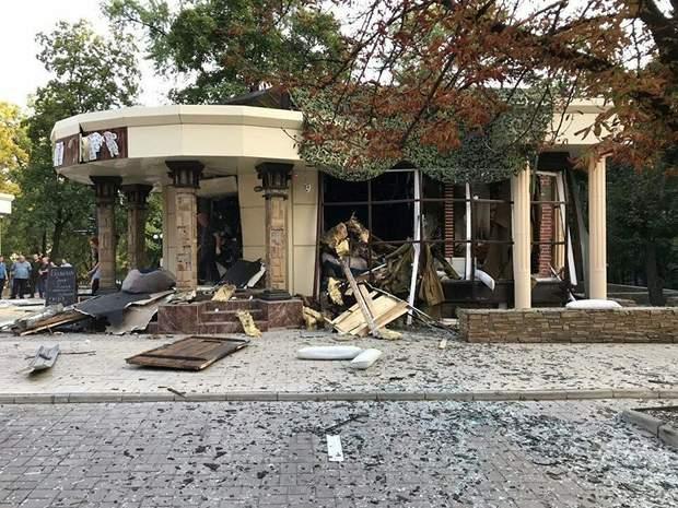 Вбивство Донецька Кафе Сєпар вибух Донецьк