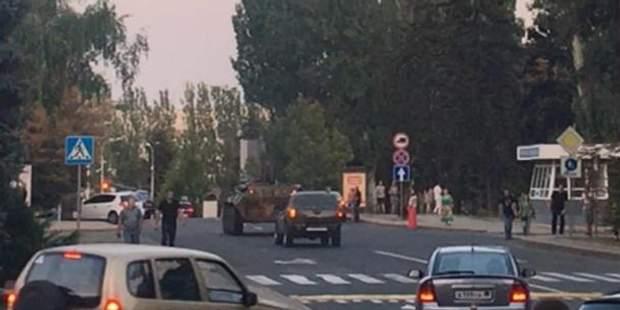 Вбивство Захарченка БТР Донецьк