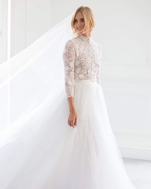 Італійське королівське весілля  блогерка К яра Ферраньї вийшла заміж ... d58b277d67496