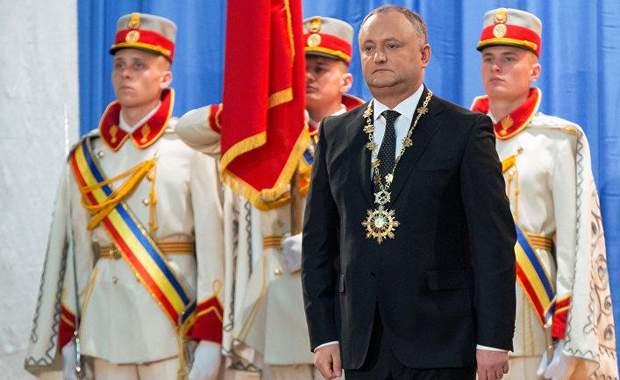 Додон Молдова