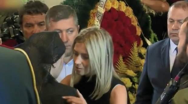 На похорони Захарченка приїхали Сергій Аксьонов та Наталія Поклонська