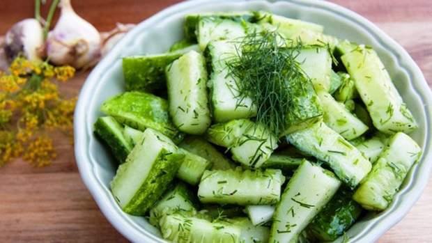 Салати з огірків на зиму: рецепти приготування салатів з огірків на зиму з фото