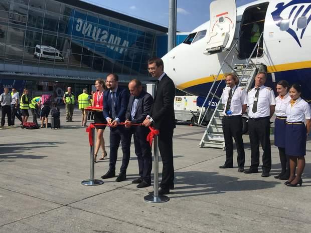 3 вересня Ryanair здійснив перший політ до Берліну