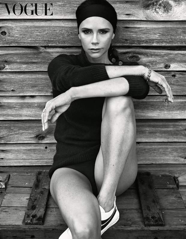 Вікторія Бекхем / Vogue UK