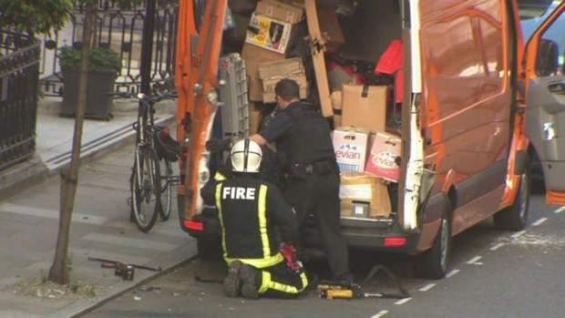 Лондон вибух BBC