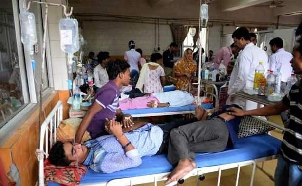 Через значний підйом рівня води в Індії швидко поширився лептоспіроз
