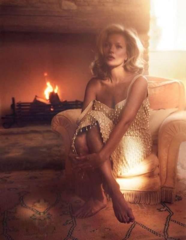 Кейт Мосс / Vogue France