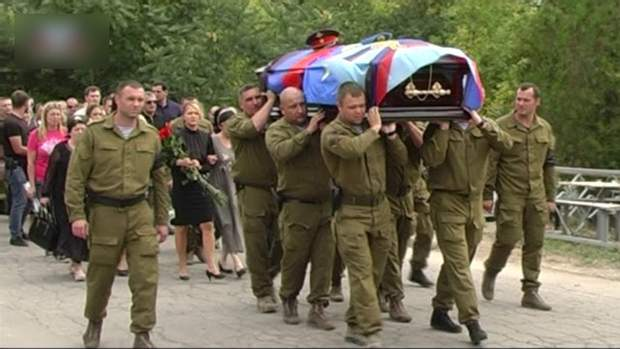 Донецьк, похорон, Доценко, Слов'ян, Захарченко, охоронець