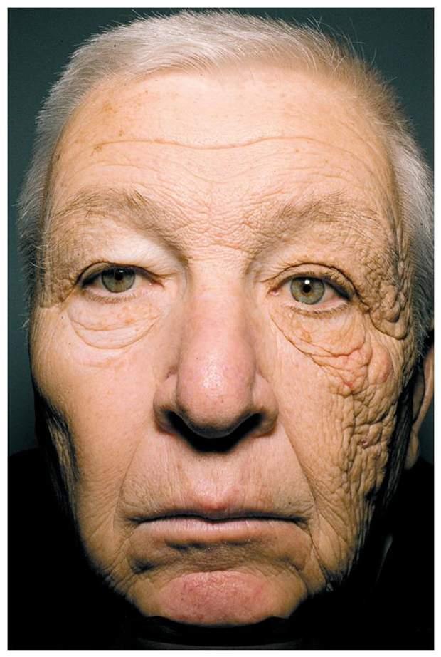 Обличчя далекобійника, який перевозив вантажі протягом 28 років