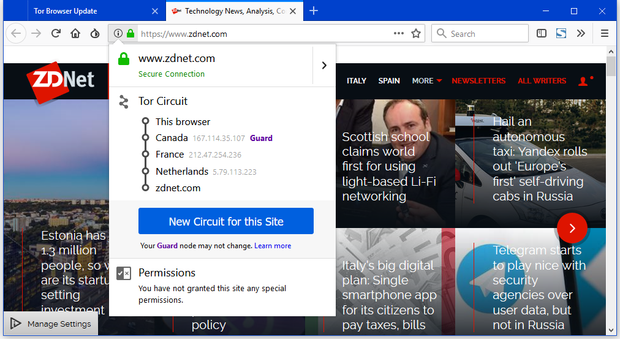 Браузер, інтернет, серфінг, Tor Browser