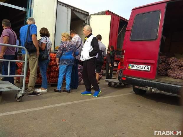Рибак Янукович Київ ринок цибуля Партія регіонів